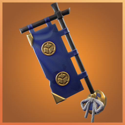 Sashimono Fortnite Back Bling