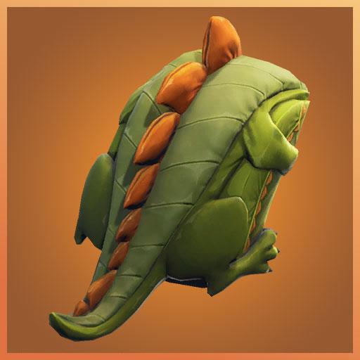 Fortnite Back Bling Scaly Rex Dino Guard Set