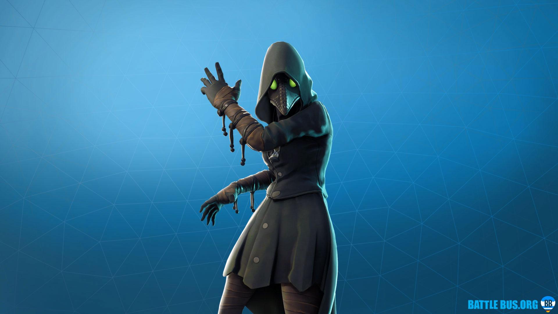 Scourge Outfit Fortnite Grim Medicine Set