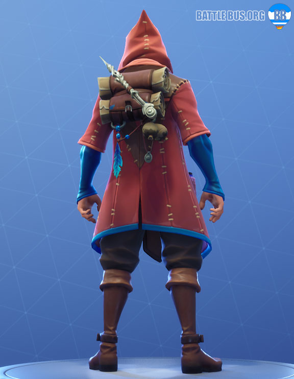 Spellbinder Fortnite Back Bling Arcane Arts Set Castor