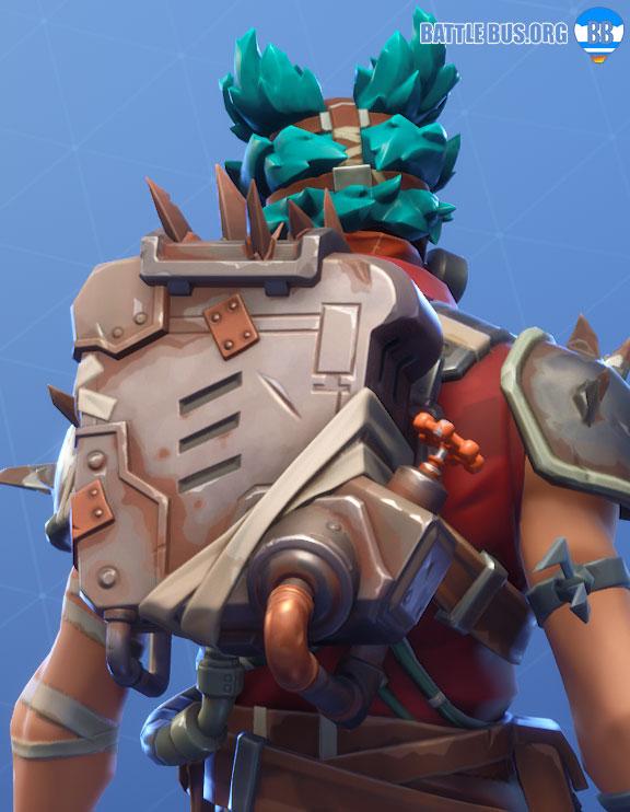 Spike Chamber Back Bling Ruckus Fortnite