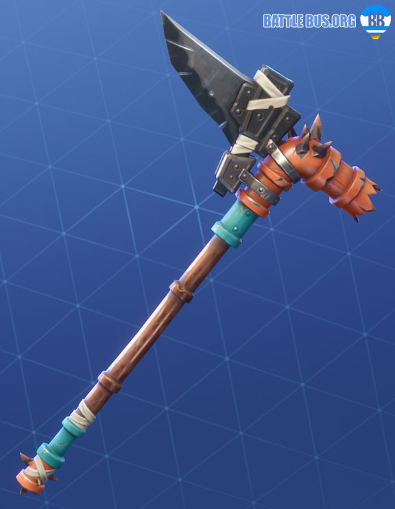 Splinterstrike Pickaxe Fortnite Wasteland Warriors Set