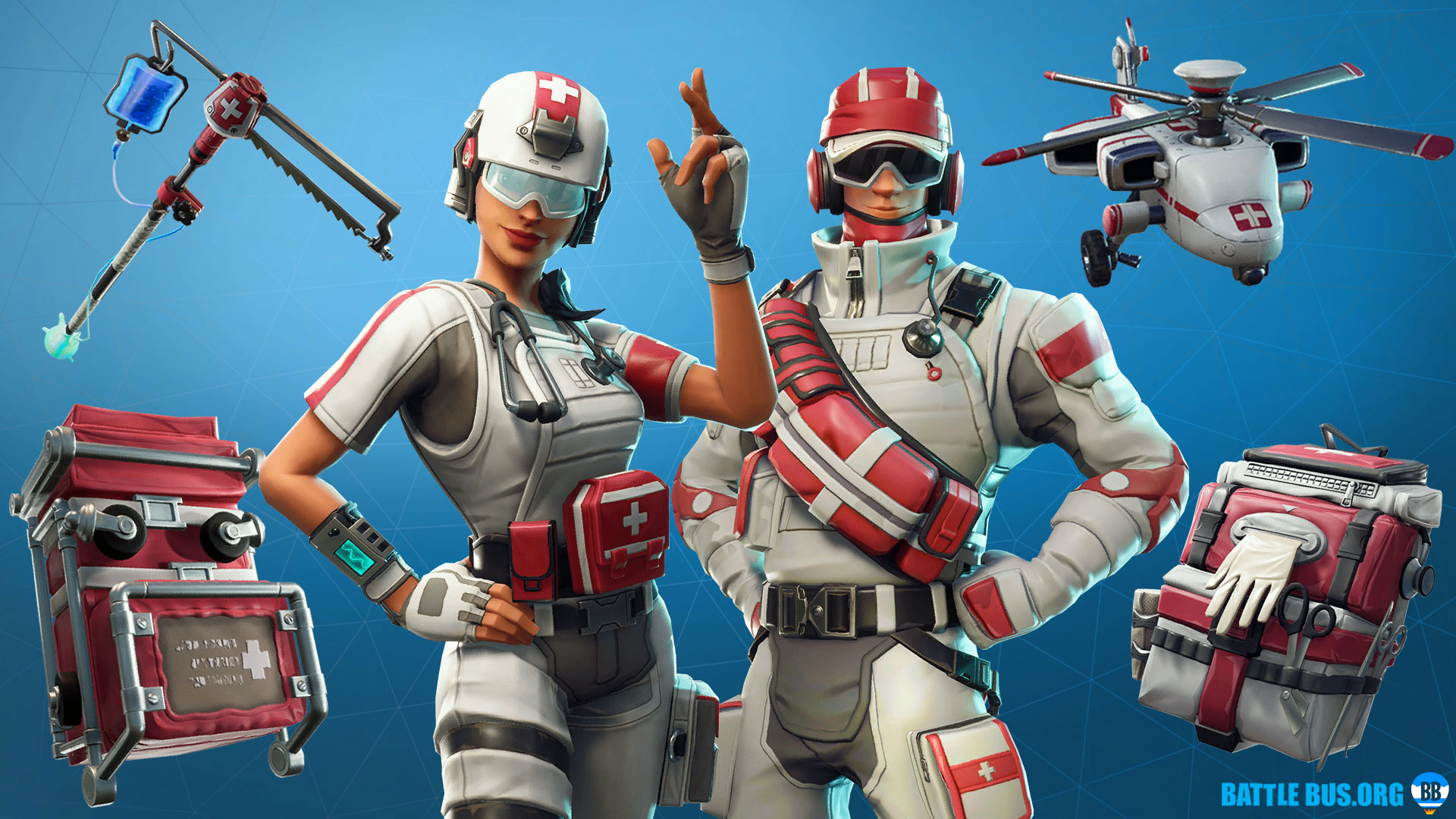 Support Squadron Set Fortnite