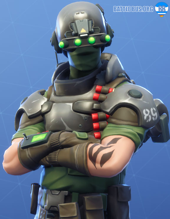 Tech Ops Fortnite Outfit
