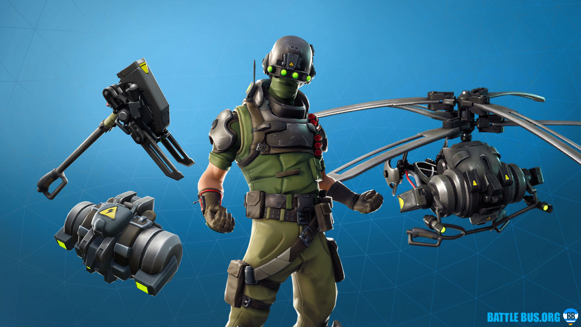 Tech Ops Set Fortnite