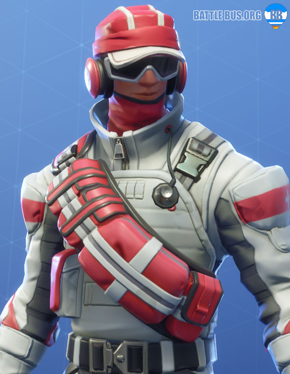 Triage Trooper Outfit Fortnite Support Squadron Set