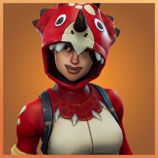 Fortnite Outfit Tricera Ops Dino Guard Set