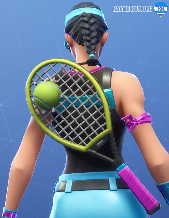 Used Racket Back Bling Fortnite
