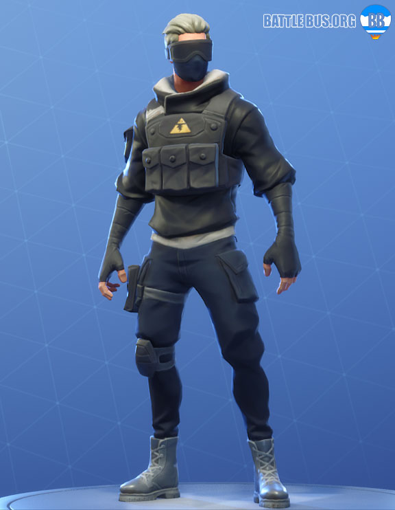 Verge Fortnite Outfit Modern Mercenary Set