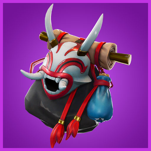 White Fang Back Bling Fortnite