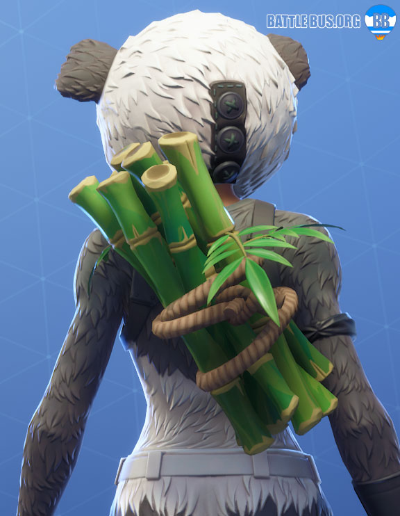 Bamboo Panda Back Bling Fortnite
