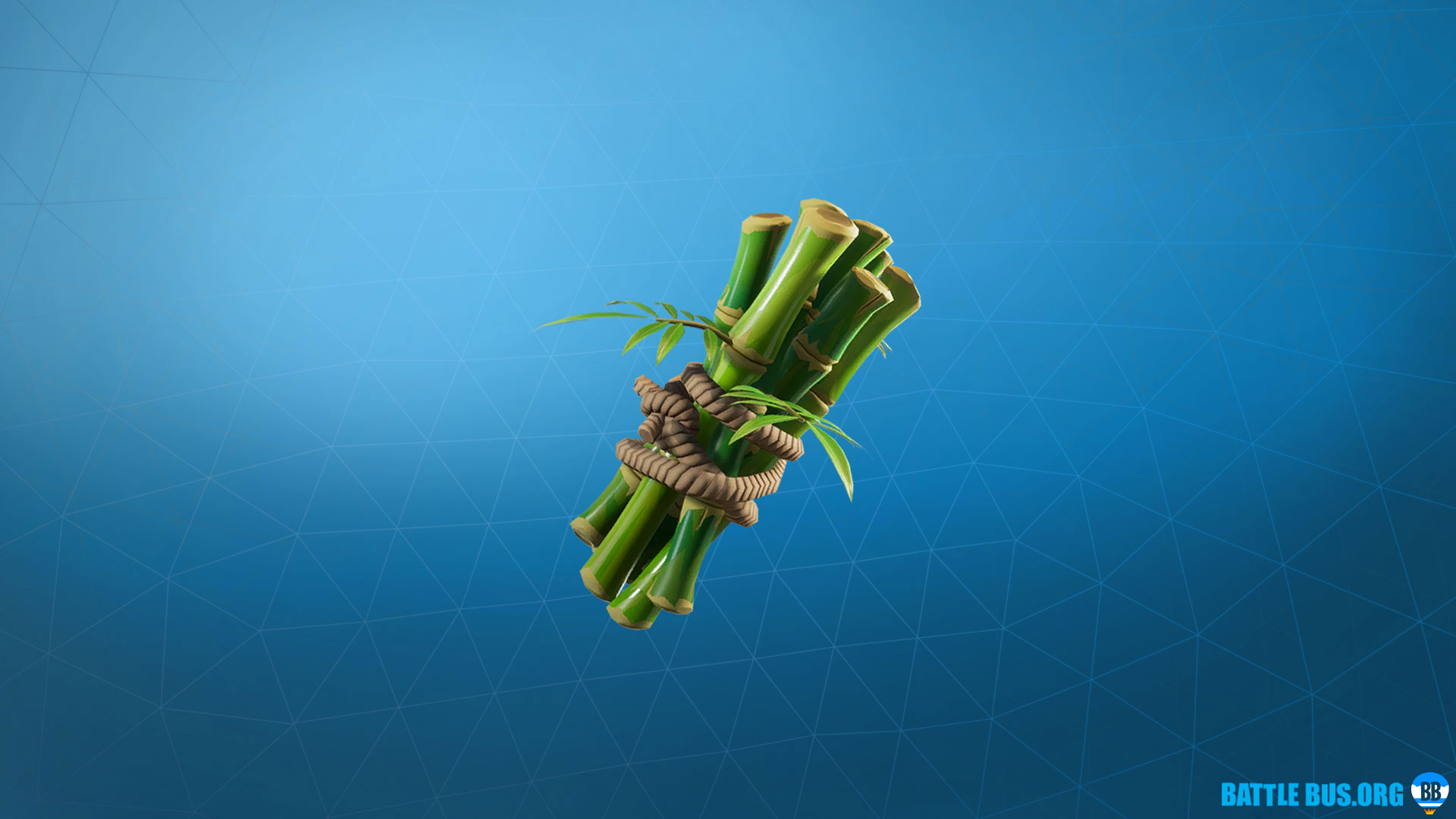 Bamboo Back Bling Panda Fortnite