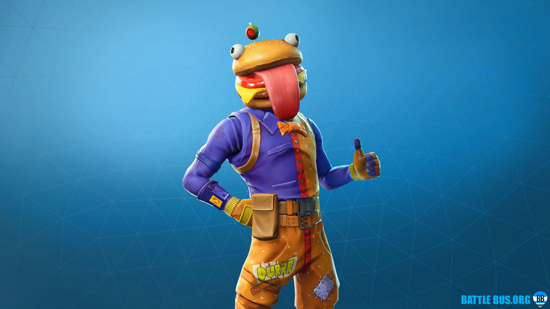 Beef Boss Outfit Fortnite Durrr Burger Set