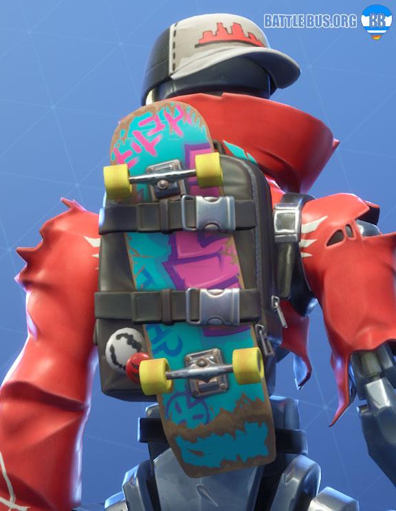 Board Bag Back Bling Revolt Robo Rebels Set