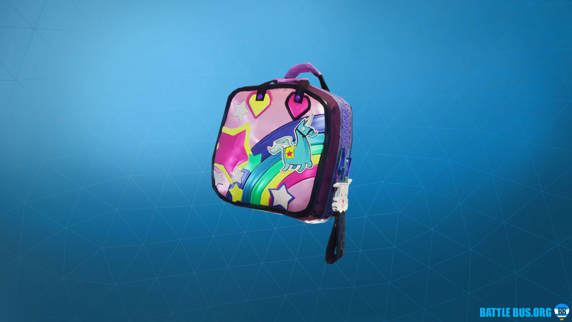 Brite Bag Back Bling Fortnite Sunshine & Rainbows Set
