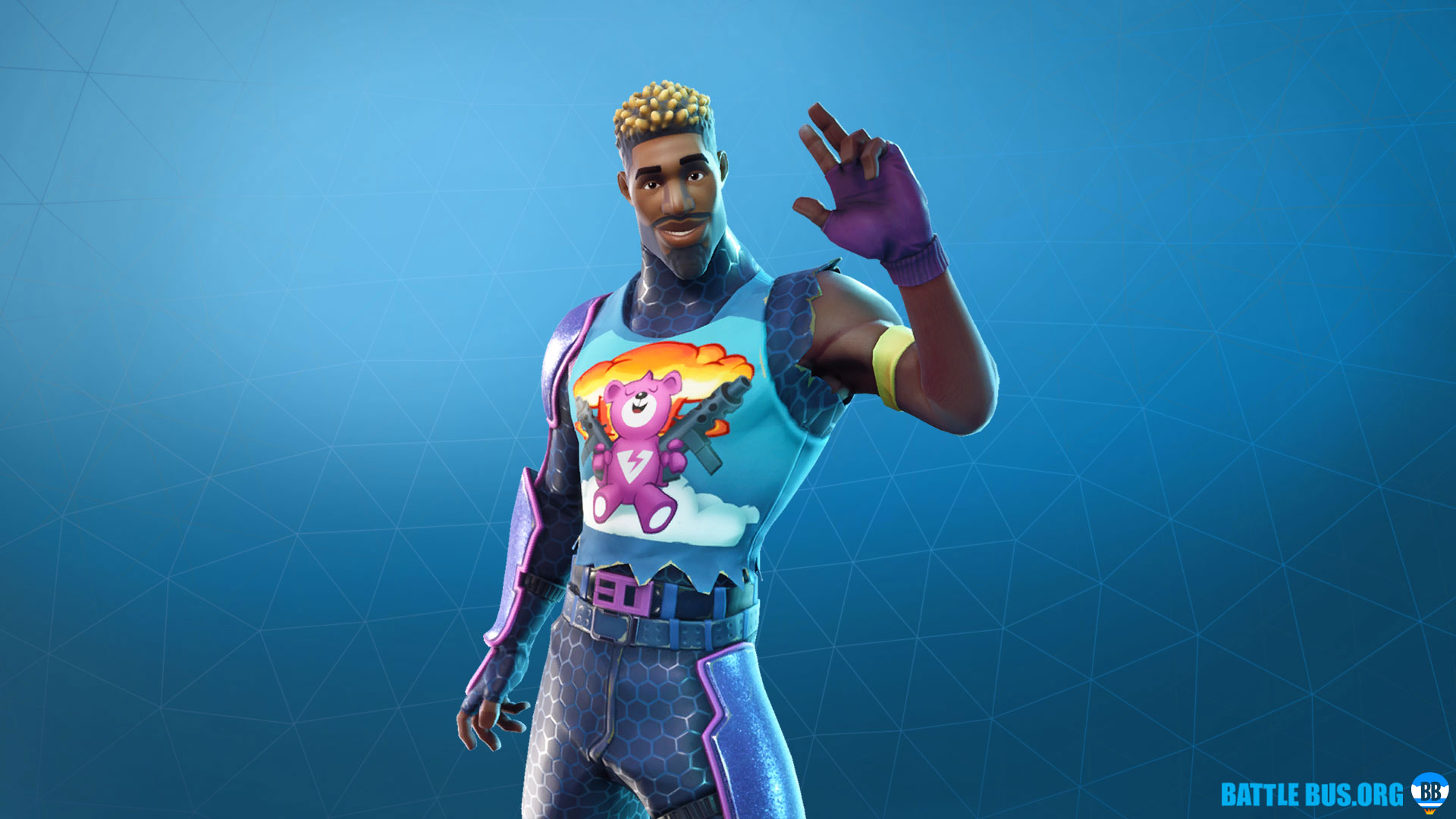 Brite Gunner Outfit Fortnite Sunshine & Rainbows Set