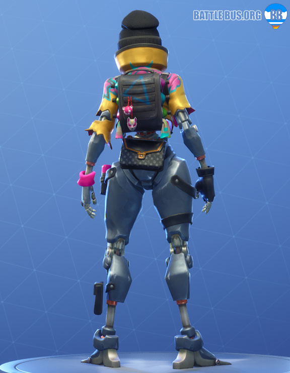 Cannister Carrier Back Bling Rebel Robo Rebels Set Fortnite