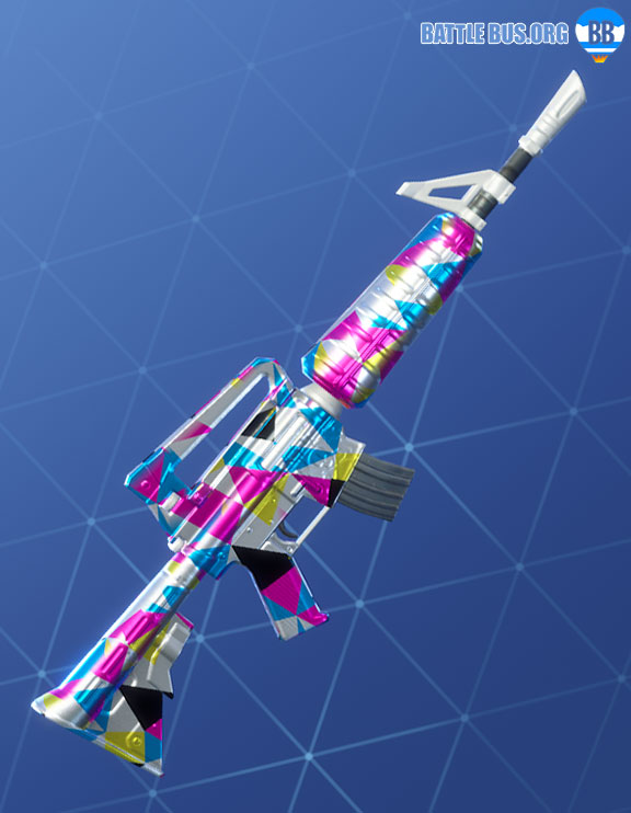 Chromatic Wrap Fortnite Assault Rifle