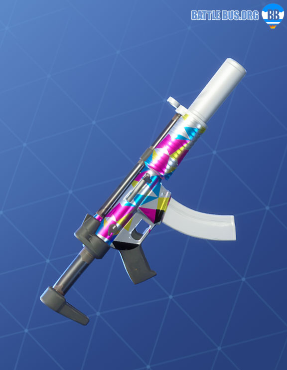 Chromatic Wrap Fortnite SMG