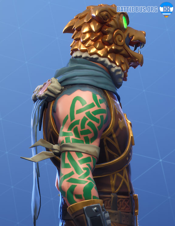 Crested Cape Back Bling Battle Hound Fortnite Laoch
