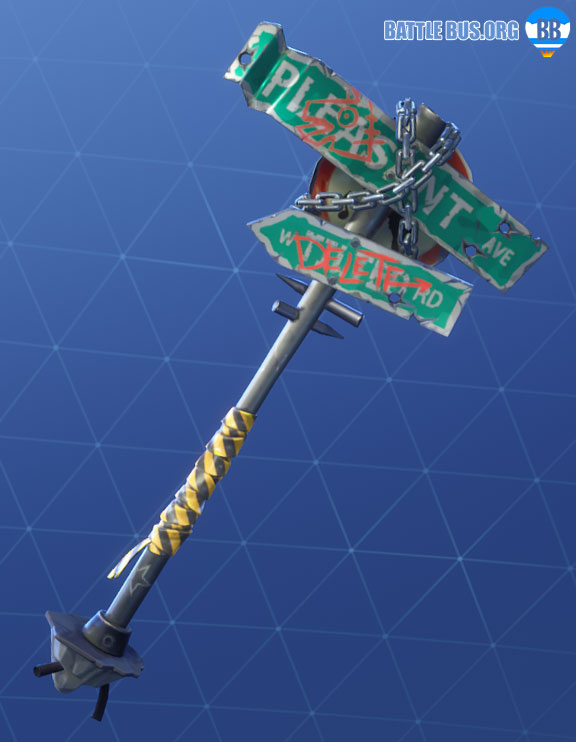 Crossroads Pickaxe Fortnite Robo Rebels Set
