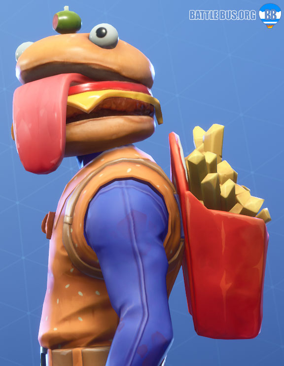 Deep Fried Back Bling Fortnite Beef Boss Durrr Burger Set