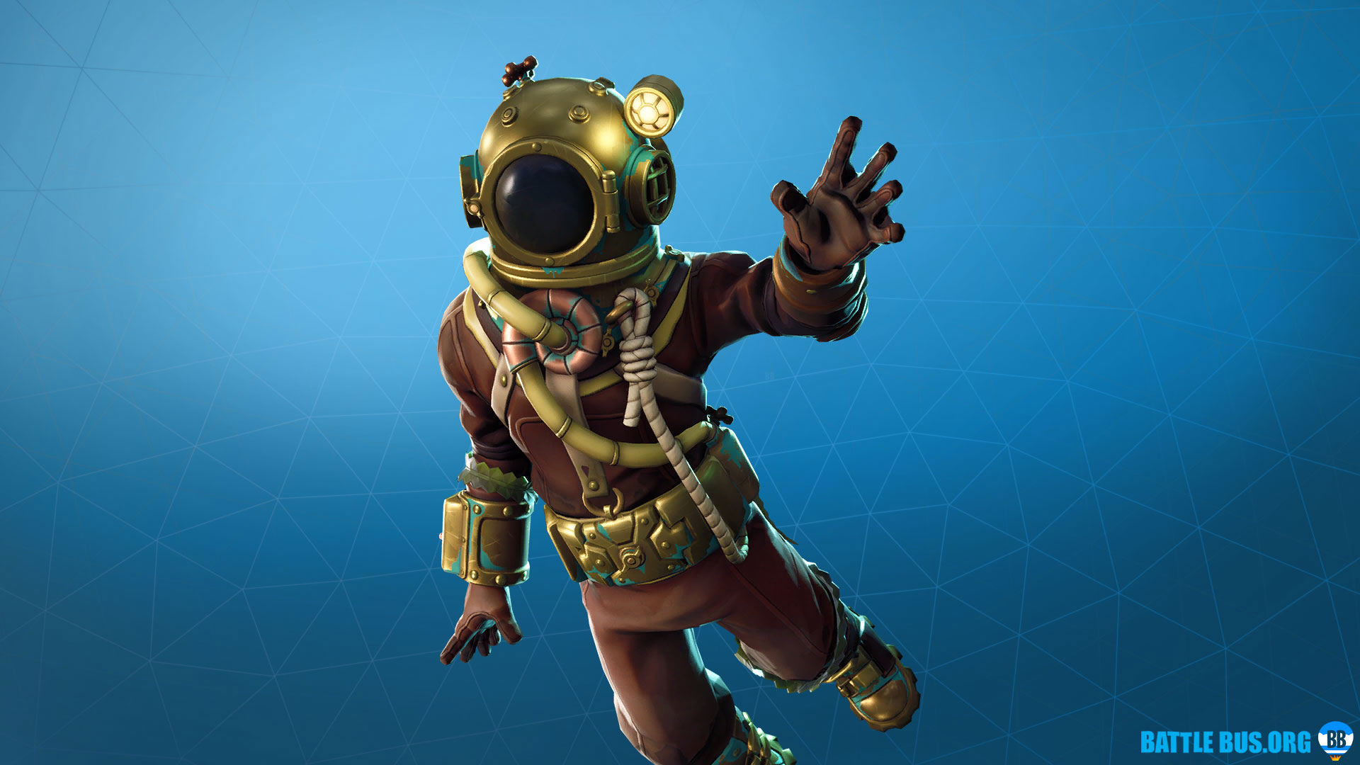 Deep Sea Destroyer Outfit Fortnite Deep Sea Set