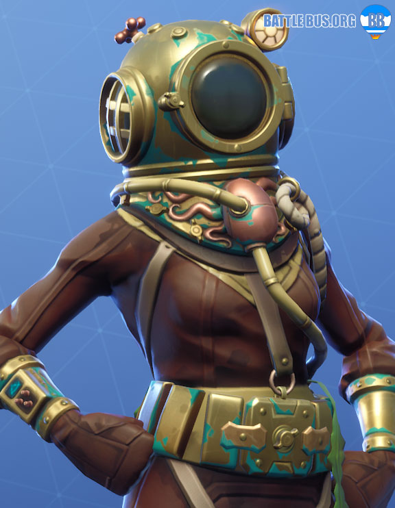 Deep Sea Dominator Outfit Fortnite Deep Sea Set