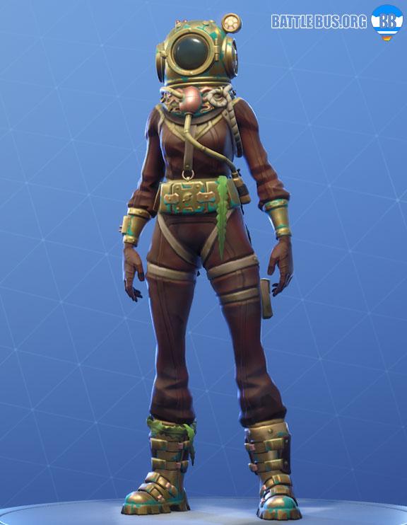 Deep Sea Dominator Outfit Fortnite Deep Sea Set