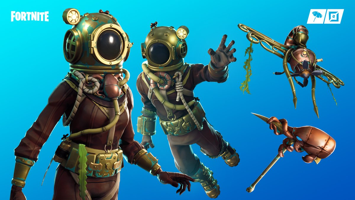 Deep Sea Set Fortnite Outfit Destroyer Dominator
