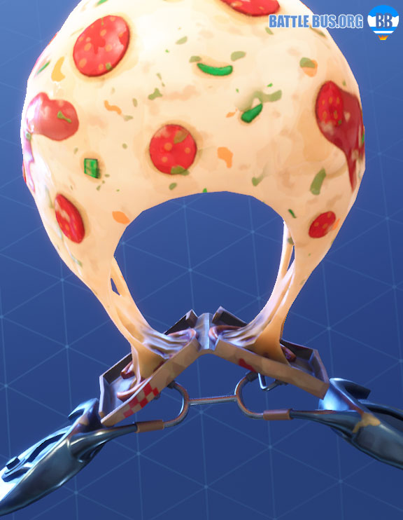 Extra Cheese Glider Fortnite Pizza Pit Set