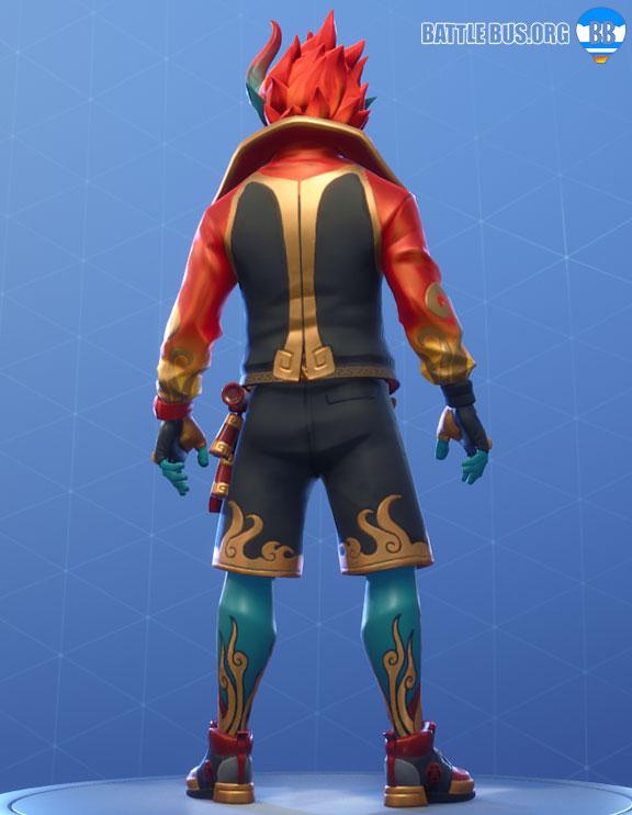 Firewalker Outfit Fortnite