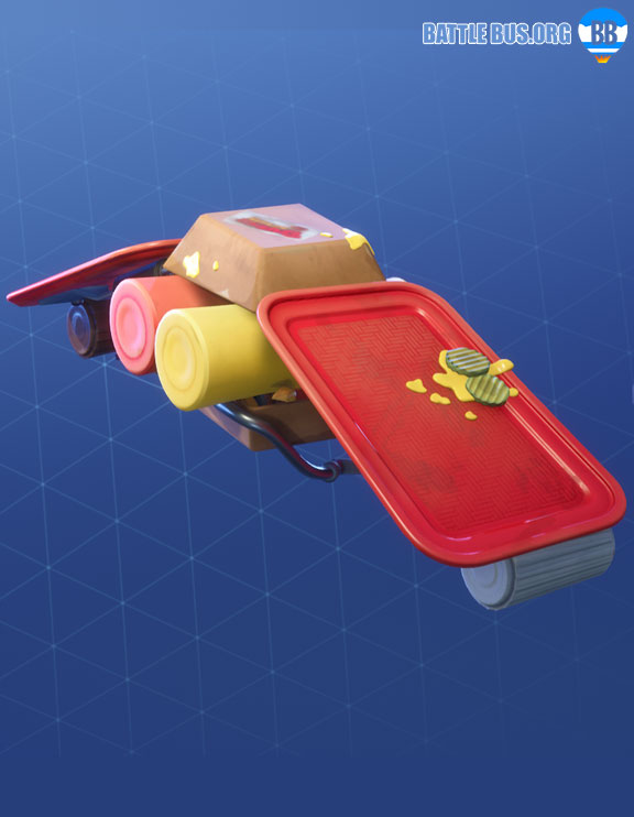Flying Saucer Glider Fortnite Durrr Burger Set