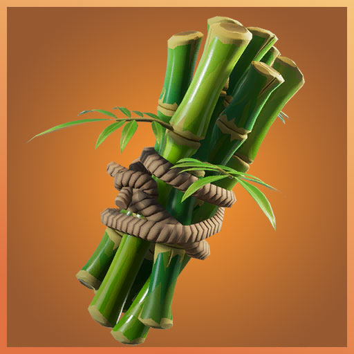 Fortnite Back Bling Bamboo Panda