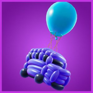 Fortnite Back Bling Battle Balloon Party Parade Set