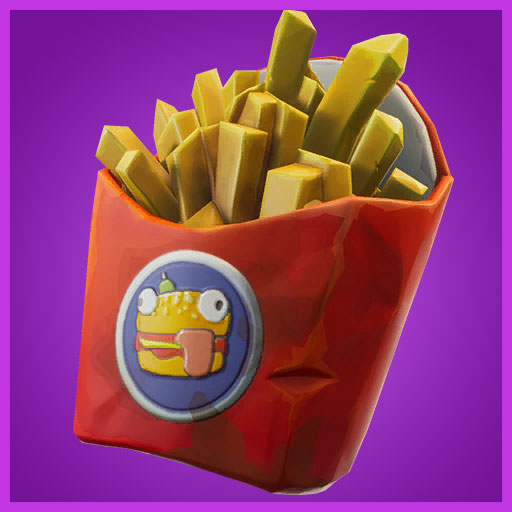 Fortnite Back Bling Deep Fried Beef Boss Durrr Burger Set