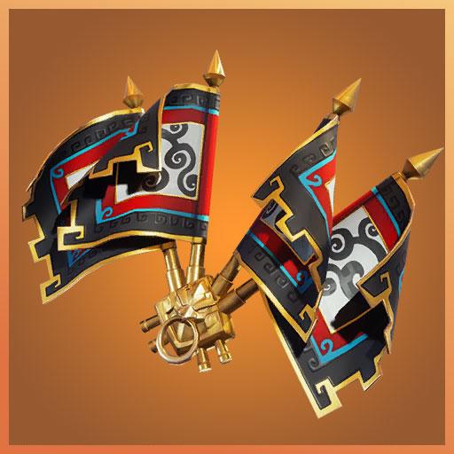Fortnite Back Bling Royale Flags Wukong