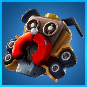Fortnite Back Bling Scrappy Sparkplug Boneyard Set