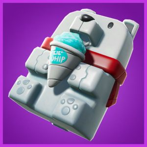 Fortnite Back Bling Sno Cone