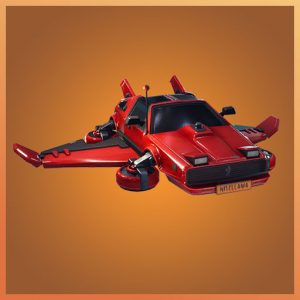 Fortnite Glider Hot Ride Garage Band Set