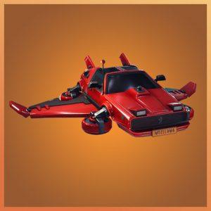 Fortnite Glider Hot Ride Garage Band Set