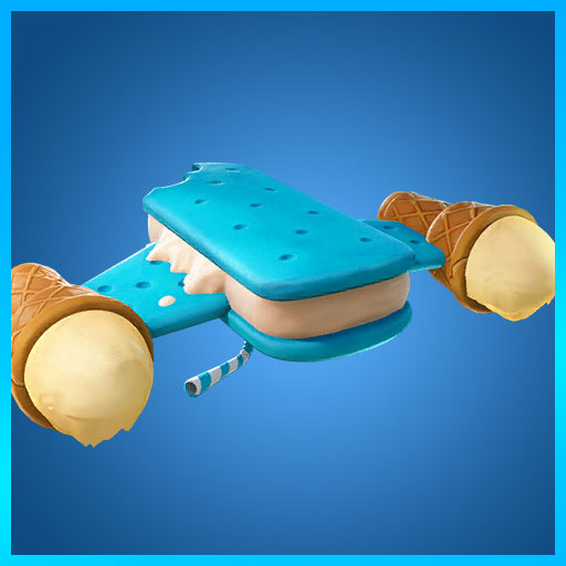 Fortnite Glider Ice Cream Cruiser