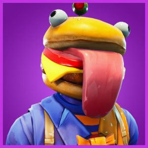 Fortnite Outfit Beef Boss Durrr Burger Set