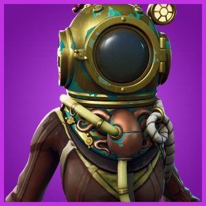 Fortnite Outfit Deep Sea Dominator Deep Sea Set
