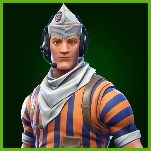 Fortnite Outfit Grill Sergeant Durrr Burger Set