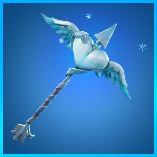 Fortnite Pickaxe Cold Hearted Frozen Legends