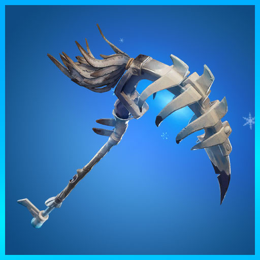 Fortnite Pickaxe Frozen Beak Frozen Legends