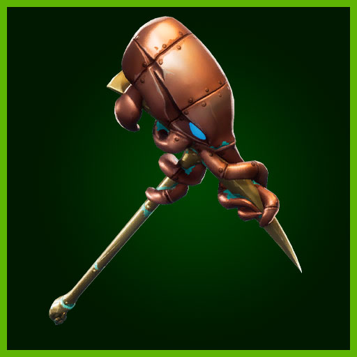 Fortnite Pickaxe Krakenaxe Deep Sea Set