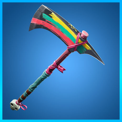 Fortnite Pickaxe Skully Splitter