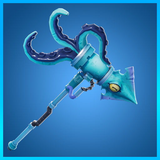 Fortnite Pickaxe Squid Striker Deep Sea Set
